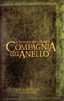 La copertina DVD di Il signore degli anelli: La compagnia dell'anello Extended Version
