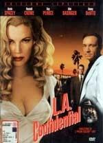 La copertina DVD di L.A. Confidential