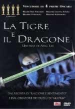 La copertina DVD di La Tigre e il Dragone