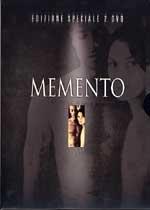 La copertina DVD di Memento - Edizione Speciale