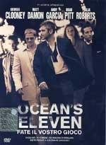 La copertina DVD di Ocean's eleven