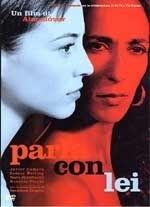 La copertina DVD di Parla con lei