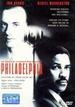 La copertina DVD di Philadelphia