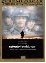 La copertina DVD di Salvate il soldato Ryan