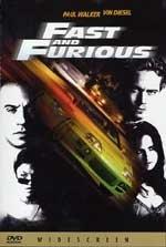 La copertina DVD di The Fast and The Furious