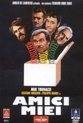 La copertina DVD di Amici miei