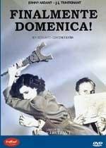 La copertina DVD di Finalmente domenica!