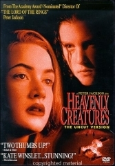La copertina DVD di Heavenly Creatures