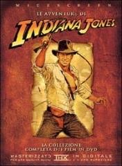 La copertina DVD di Il cofanetto di Indiana Jones
