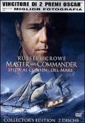 La copertina DVD di Master and Commander: Sfida ai confini del mare