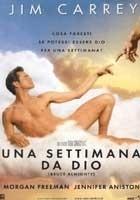 La copertina DVD di Una settimana da Dio