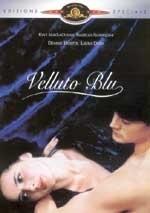 La copertina DVD di Velluto blu
