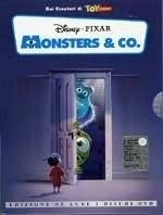La copertina DVD di Monsters & Co. Deluxe Edition