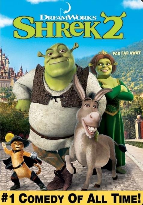 La copertina DVD di Shrek 2 (Widescreen)
