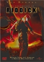 La copertina DVD di The Cronicles of Riddick
