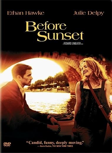 La copertina DVD di Before Sunset