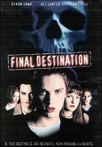 La copertina DVD di Final Destination