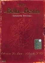 La copertina DVD di La Bella e la Bestia - Deluxe Edition