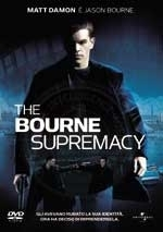 La copertina DVD di The Bourne Supremacy