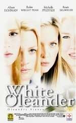 La copertina DVD di White oleander