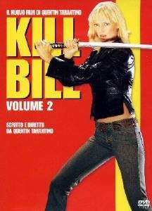 Copertina del DVD italiano di Kill Bill Vol.2