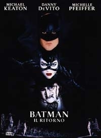 La copertina DVD di Batman - Il Ritorno