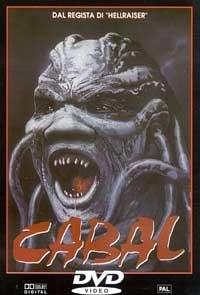 La copertina DVD di Cabal