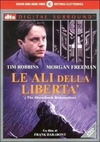 La copertina DVD di Le Ali della Libertà