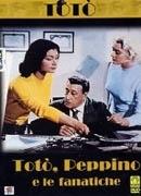 La copertina DVD di Totò, Peppino e le fanatiche