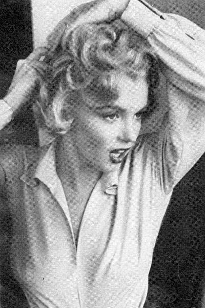 Marilyn Monroe sul set di Niagara