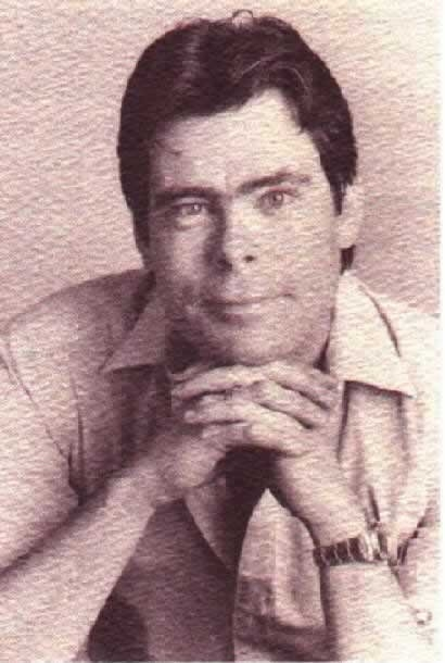 una foto di Stephen King