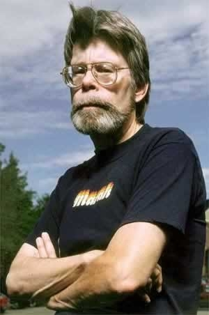 Stephen King,una foto dello scrittore