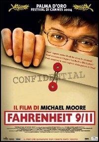 La copertina dvd di Fahrenheit 9/11