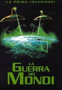 La copertina dvd di La Guerra dei Mondi