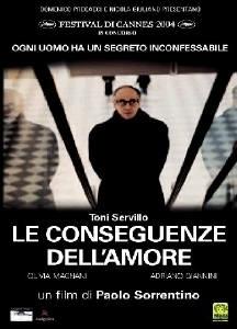 La copertina dvd di Le conseguenze dell'amore