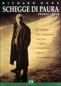 La copertina dvd di Schegge di paura