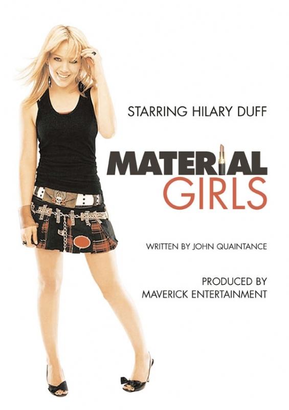 La locandina di Material Girls