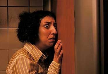Monica Cervera in una scena di Crimen Perfecto