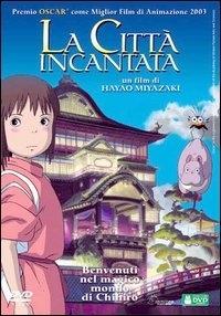 La copertina DVD di La Città Incantata - Spirited Away