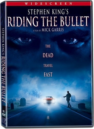 La copertina DVD di Riding the Bullet