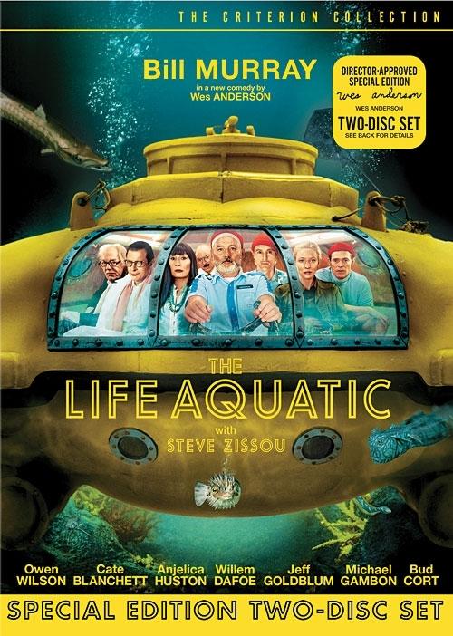 La copertina DVD di The Life Aquatic with Steve Zissou - Criterion Collection (2 disc SE)