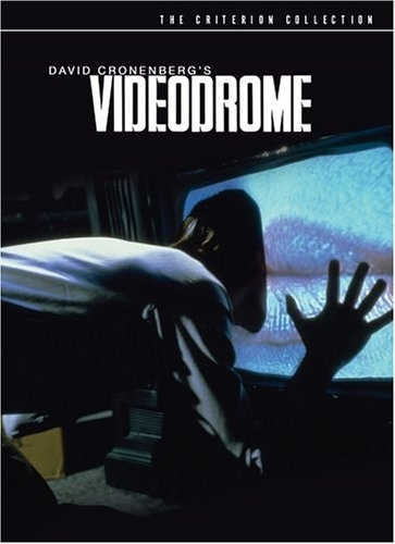 La copertina DVD di Videodrome