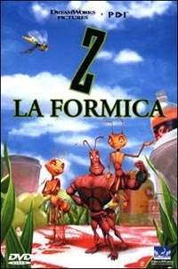 La copertina DVD di Z la Formica