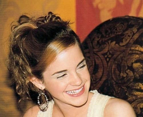 Una sorridente Emma Watson