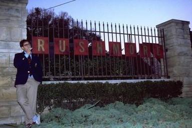 Jason Schwartzman in una scena del film Rushmore