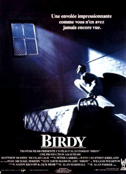 La locandina di Birdy - Le ali della libertà