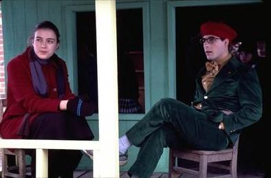 Olivia Williams e Jason Schwartzman in una scena di Rushmore