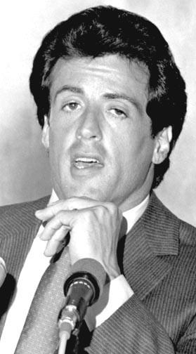 Tokyo, 2 Giugno 1981: Sylvester Stallone incontra la stampa nell'ambito di un tour promozionale per il suo film I falchi della notte