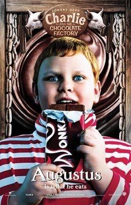 Uno dei manifesti promozionali per Charlie e la fabbrica di cioccolata