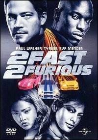 La copertina DVD di 2 Fast 2 Furious